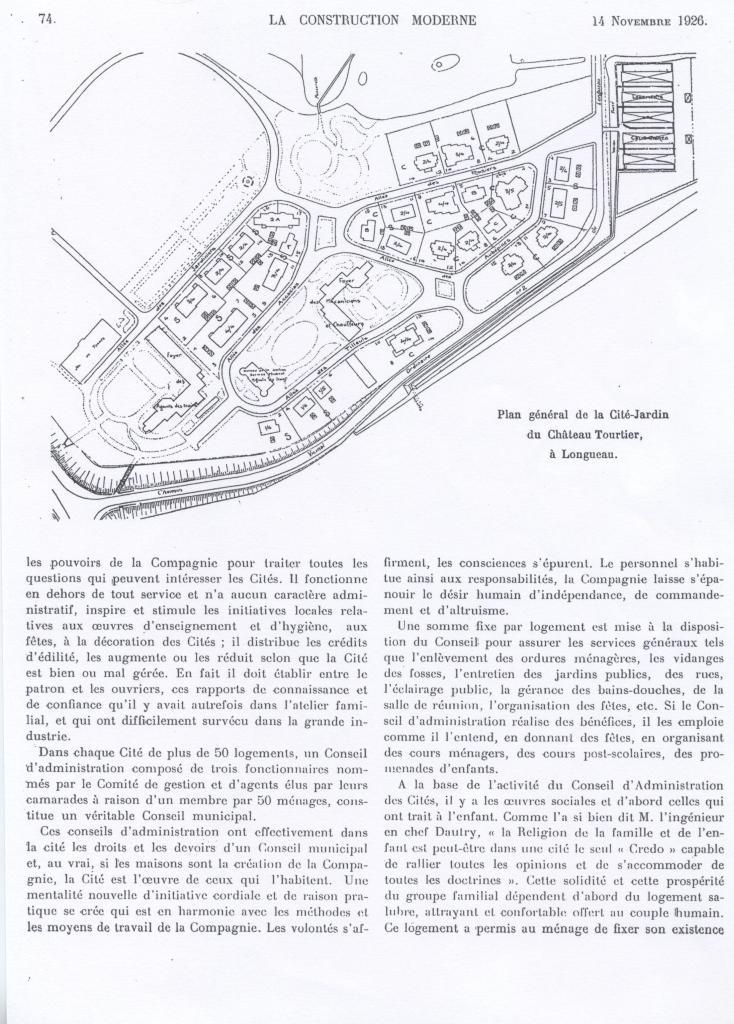 revue la construction moderne de 1926
